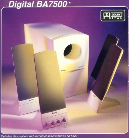 the boston acoustics ba7500 speakers rh targetpc com